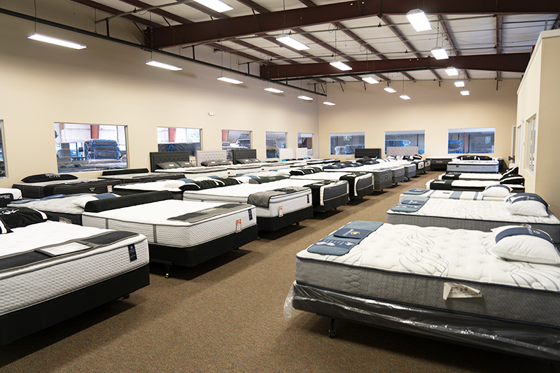 mattress selection in store sarasota florida