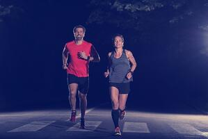 exercise at night