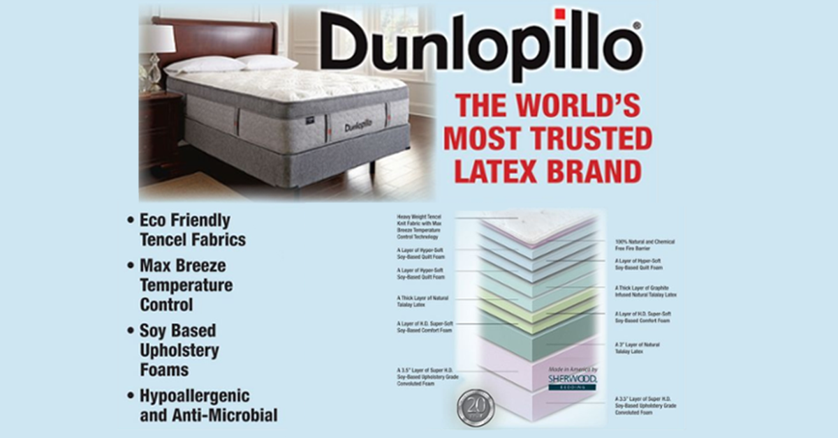 What Makes Dunlopillo so Great?