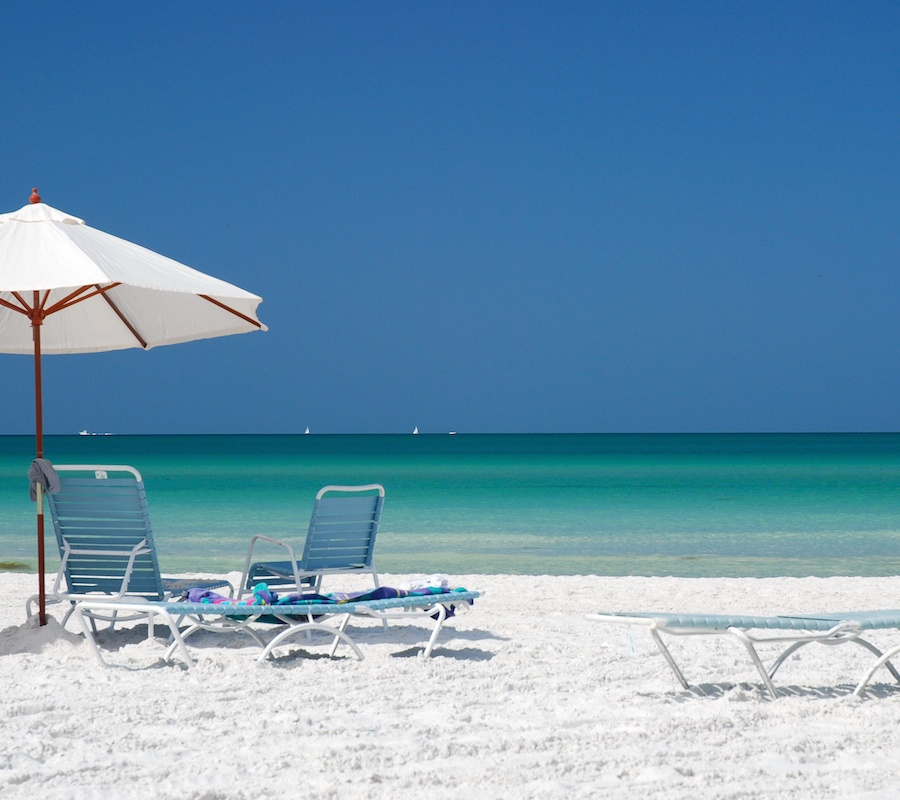 Top 5 Beaches in the Sarasota Area