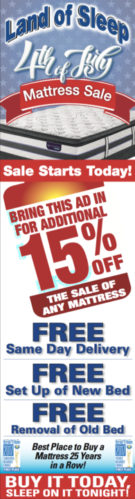 4th of July Mattress Sale!
