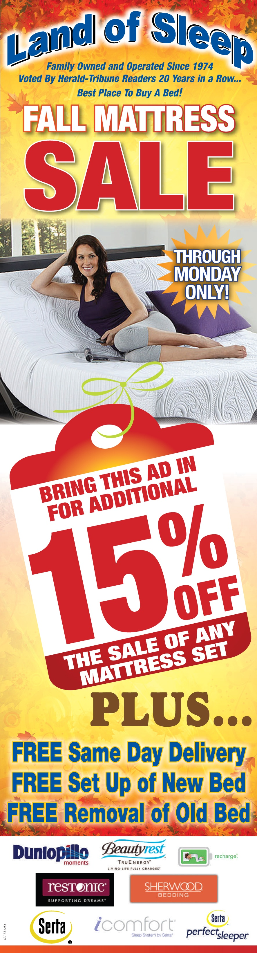 Check Out Our Fall Mattress Sale!