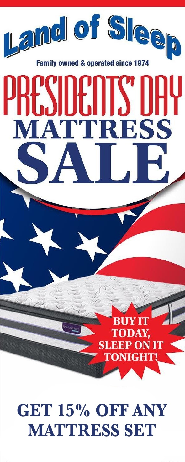 2018 Presidents' Day Mattress Sale in Sarasota, Florida