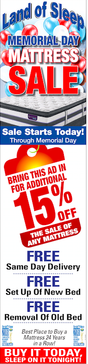 Check out our Memorial Day Mattress Sale!