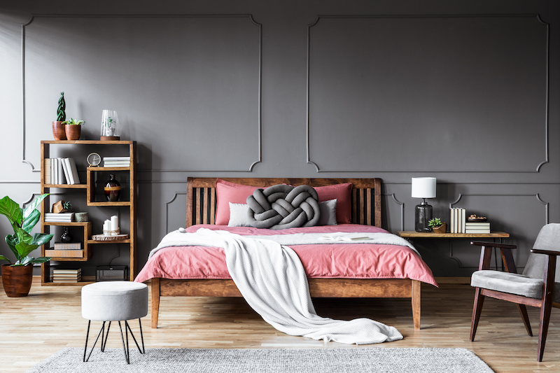 bigstock-Grey-And-Pink-Cozy-Bedroom-252415990