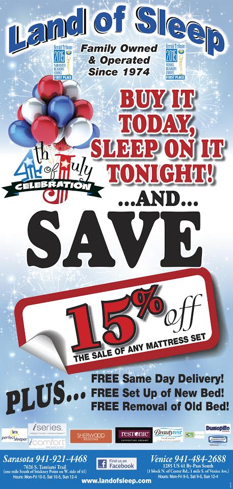 4th of July Mattress Sale Starts Friday!