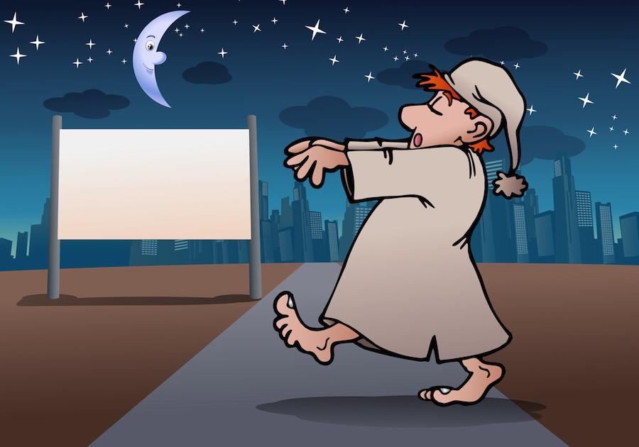 What Causes Sleep Walking?