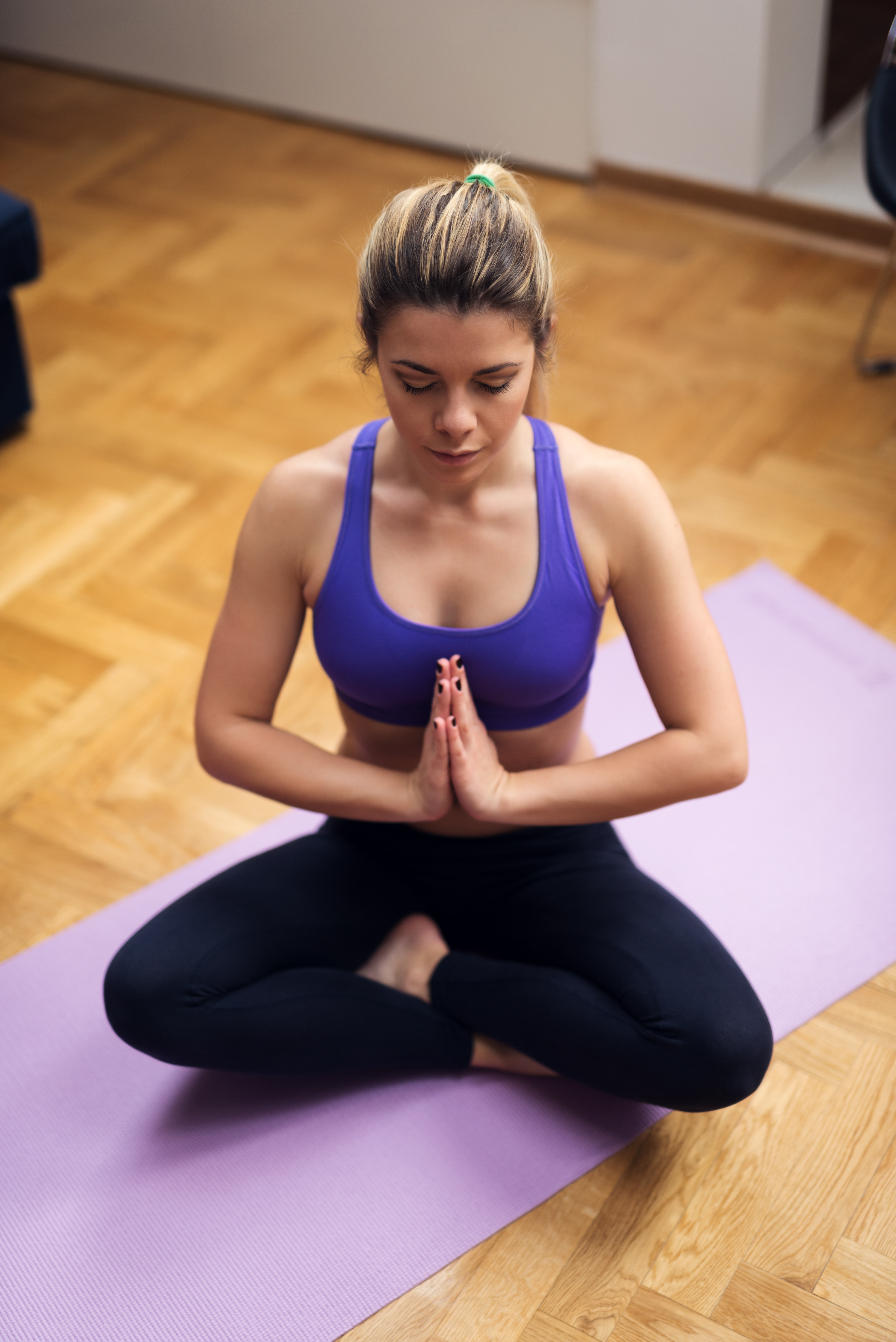 The Best Yoga Poses For a Better Night's Sleep